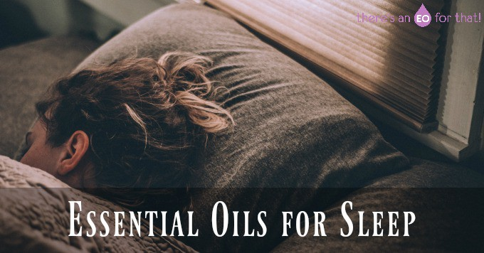 A girl sleeping - Essential Oils for Sleep