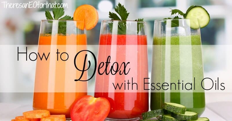 How to use essential oils for detox