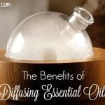 Diffusing essential oils benefits