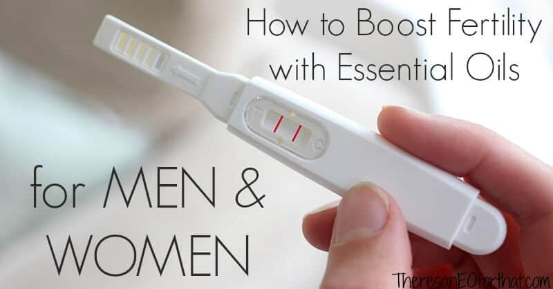 boost fertility with essential oils