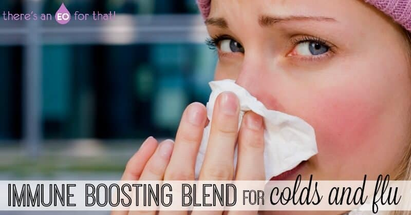 immune boosting blend for colds and flu