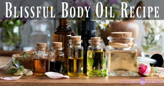Blissful Body Oil Recipe