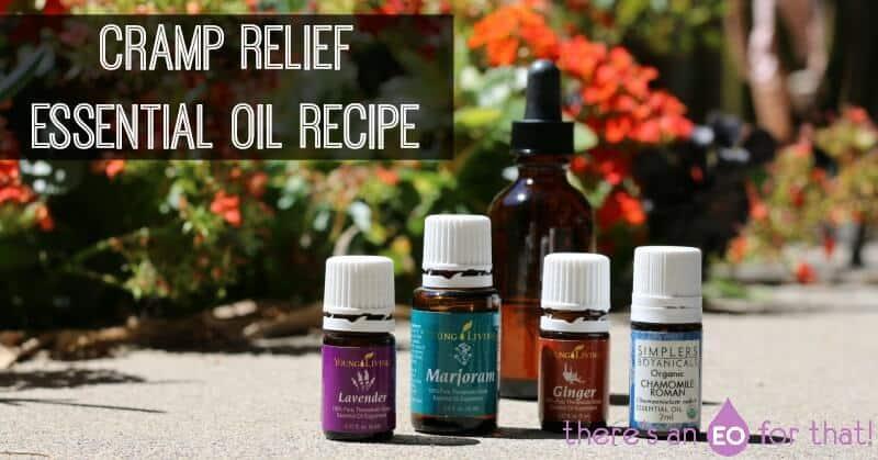 Cramp Relief Essential Oil Recipe