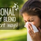 seasonal allergy blend using essential oils