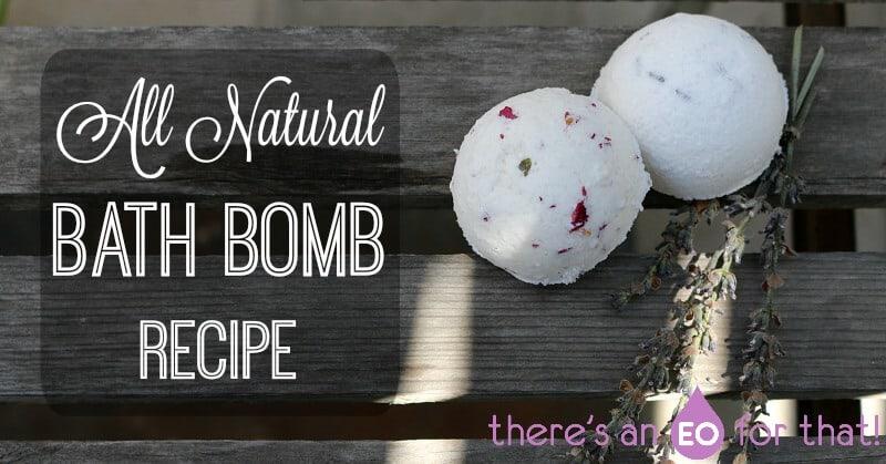 All Natural Bath Bomb Recipe