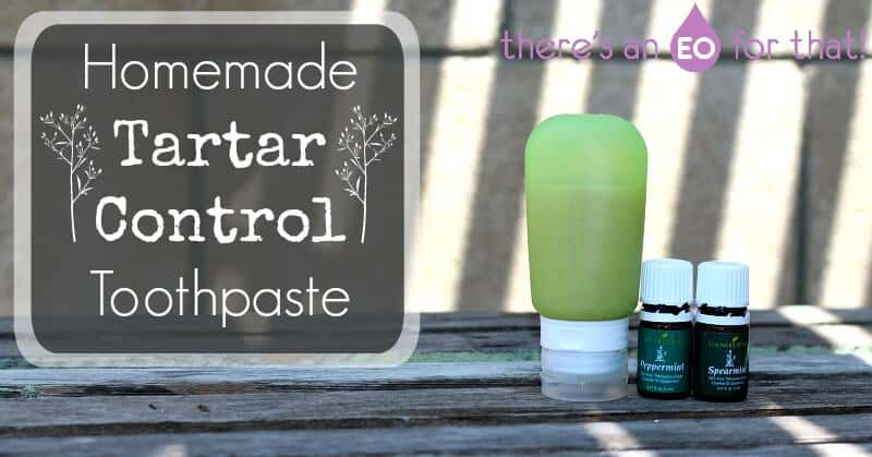 Homemade Tartar Control Toothpaste - There's an EO for That