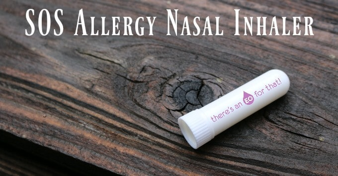 SOS Allergy Nasal Inhaler