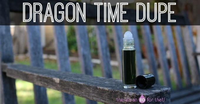 Dragon Time essential oil dupe recipe