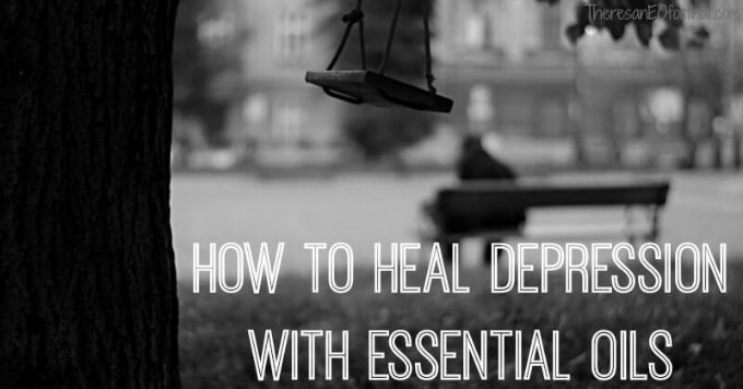 How to heal depression with essential oils.