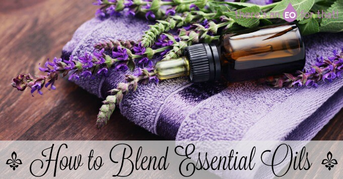 How to blend essential oils at home.