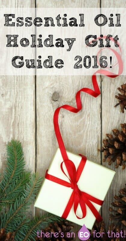Essential Oil Holiday Gift Guide 2016! - Need an essential oil holiday gift guide this year? Look no further because I've got you covered with everything from EO gift sets to recommended EO books.