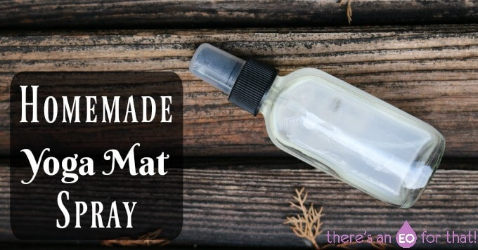 Homemade Yoga Mat Spray