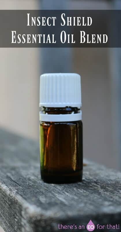 Insect Shield Essential Oil Blend to Keep Away Biting Insects.