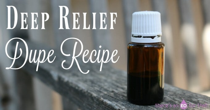 Deep Relief Dupe Recipe, DIY Deep Relief Recipe