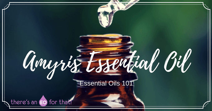 How to use amyris essential oil