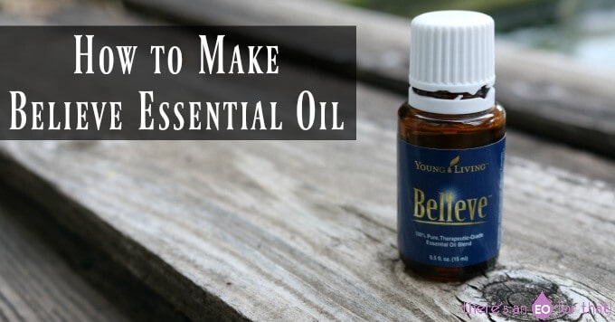 How to Make Believe Essential Oil Dupe