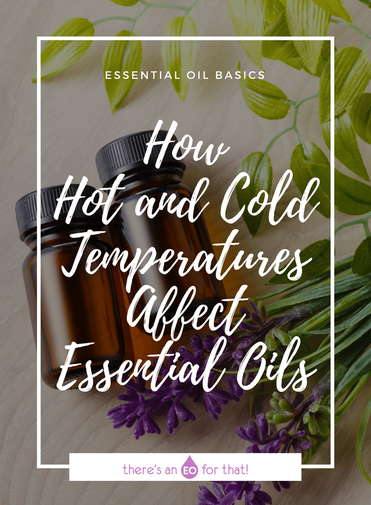 How Hot and Cold Temperatures Affect Essential Oils - Learn about the impact heat can have on distilled, expressed, and chemically extracted essential oils and how you can avoid losing their therapeutic properties.