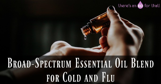Broad-Spectrum Essential Oil Blend for Cold and Flu