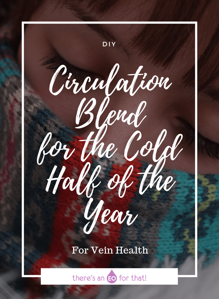 Circulation Blend for the Cold Half of the Year - This blend features essential oils known for their supportive circulatory properties and vein strengthening abilities.