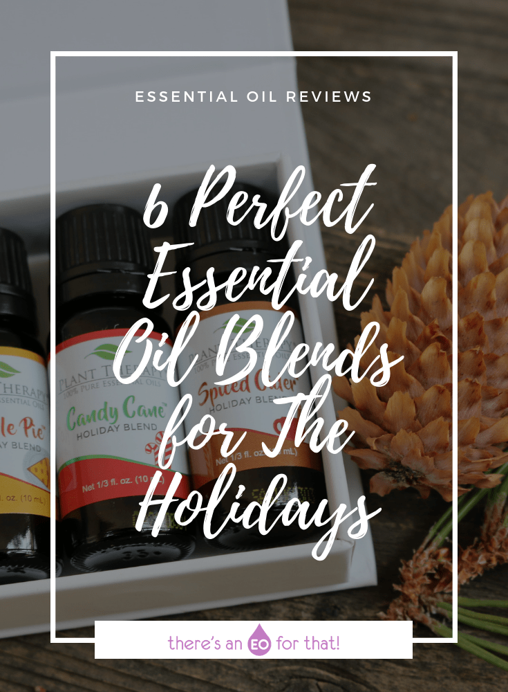 6 Perfect Essential Oil Blends for The Holidays - These blends are reminiscent of chilly fall days, holiday treats, and cozy winter holidays.