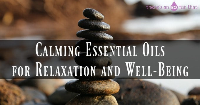 Calming Essential Oils for Relaxation and Well-Being - Photo of balancing stones