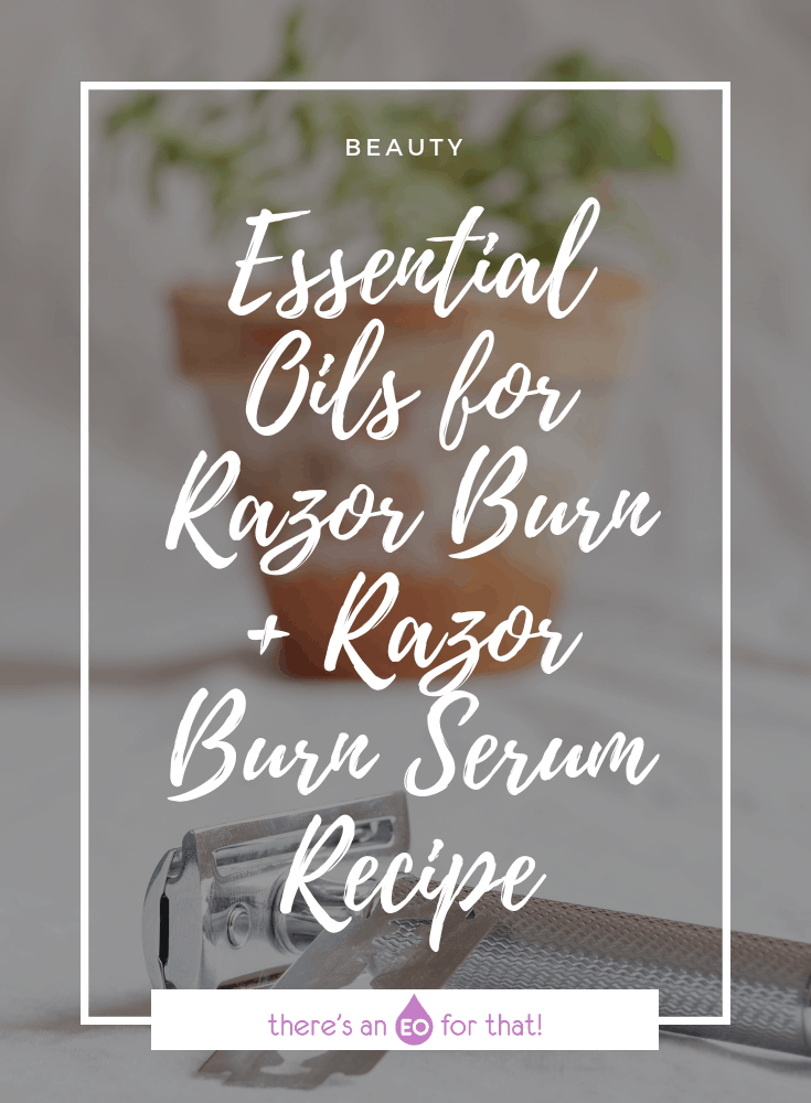 The best essential oil for razor burn - Photo of a razor